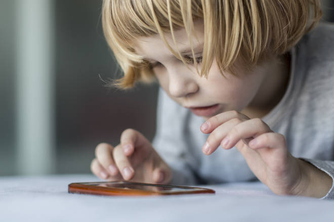 Reducing your child's screen time can seem an impossible task (stock image)
