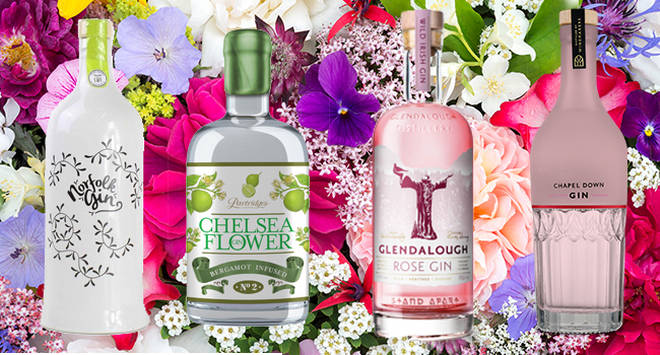 These floral gins are sure to delight all the senses