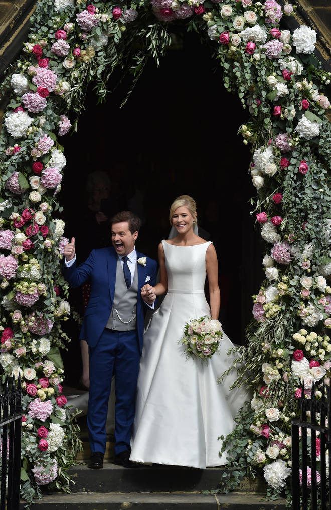 Ali and Dec married in 2015