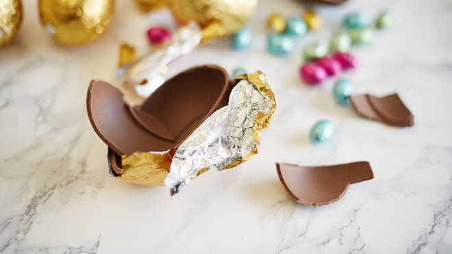 Health experts suggest that chocolate eggs shouldn't be sold until nearer the Easter period