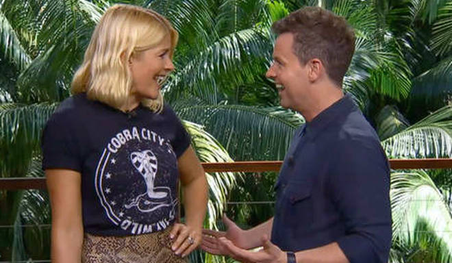 Declan Donnelly and Holly Willoughby