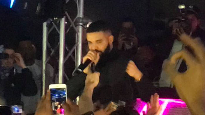 So what was Drake doing in Leicester? Pop star stuns university students