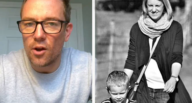 Widower Simon Thomas admitted the run up to Mother's Day was challenging