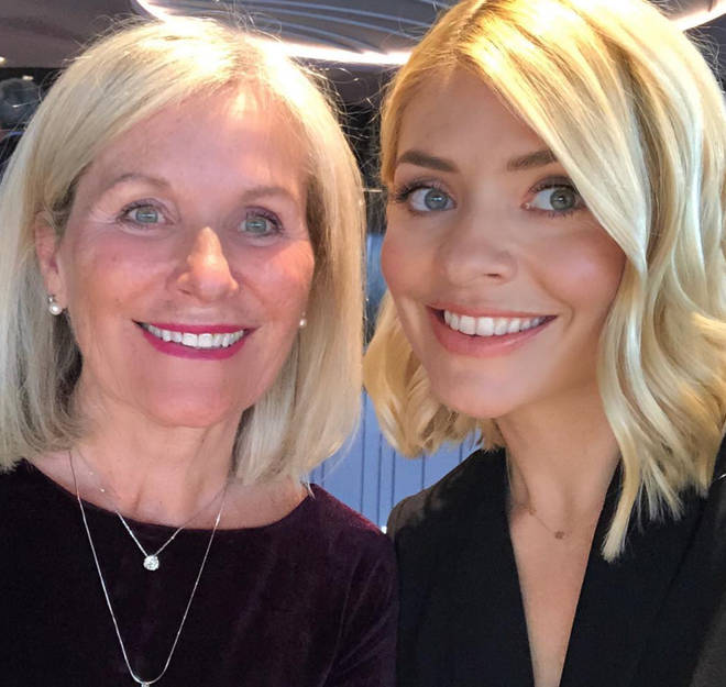 Holly Willoughby and mum Linda are the spitting image of each other