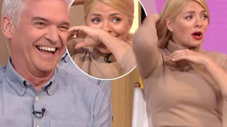 Holly Willoughby This Morning prank