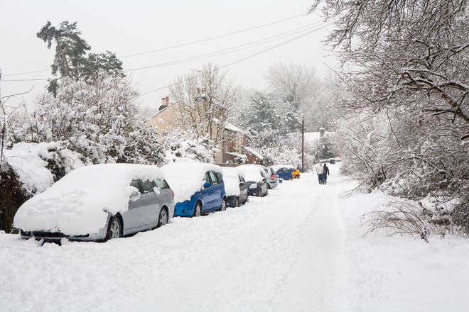Wednesday is expected to be the coldest day of the week, according to reports (stock image)