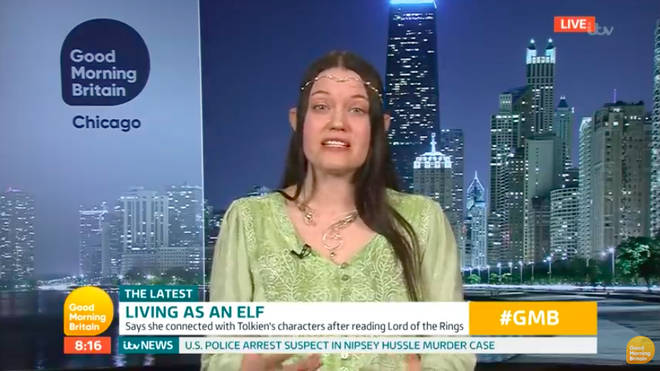 Good Morning Britain viewers were intrigued by Kimberel's story