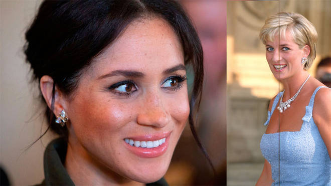 The Queen has reportedly banned Meghan from wearing Diana's jewels