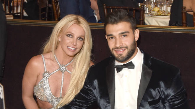Britney's boyfriend Sam Asghari has spoke of the star's 'strength'