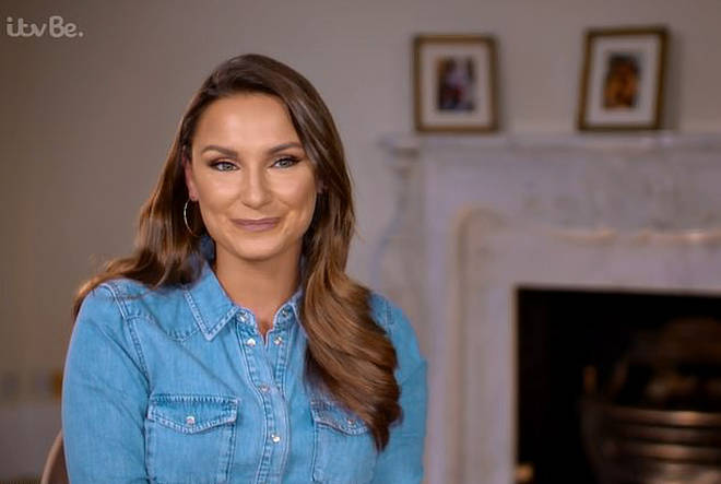 Sam Faiers claimed she has never had botox during last night's show