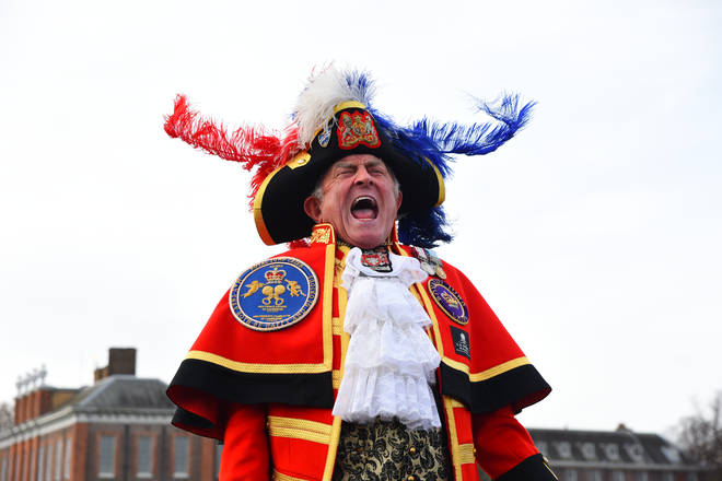 Tony Appleton is a town crier from Essex
