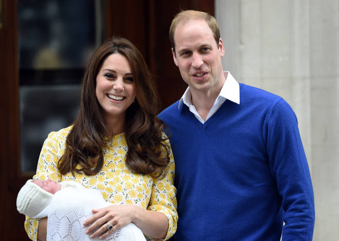 Tony Appleton announced the birth of Princess Charlotte
