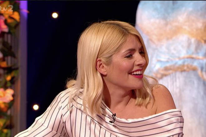 Holly Willoughby was asked if she 'enjoyed making babies' by host Keith Lemon