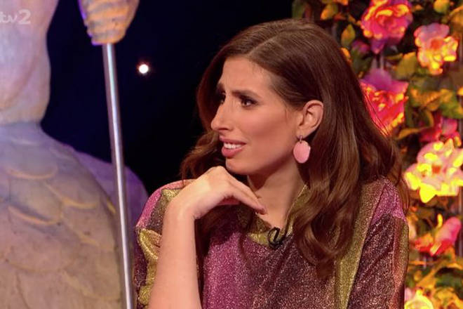 Stacey Solomon also made a very x-rated confession during the show