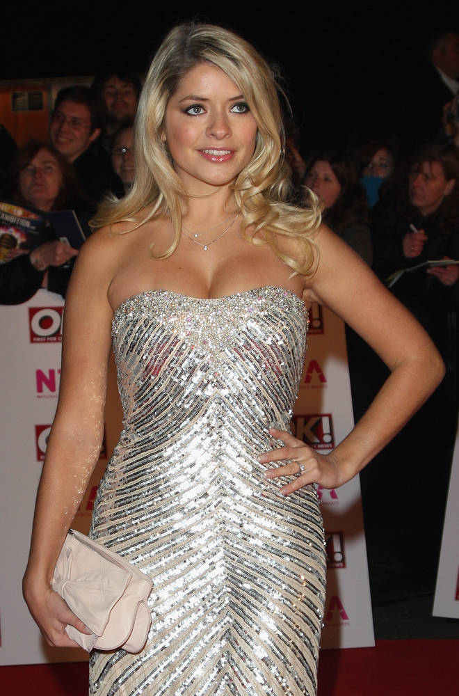Holly at the National Television Awards in 2008