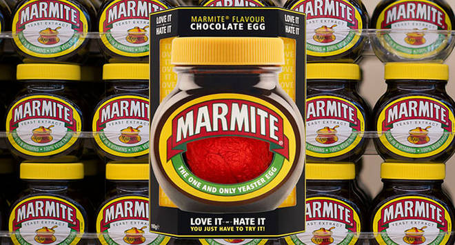 Marmite is now available as an Easter egg