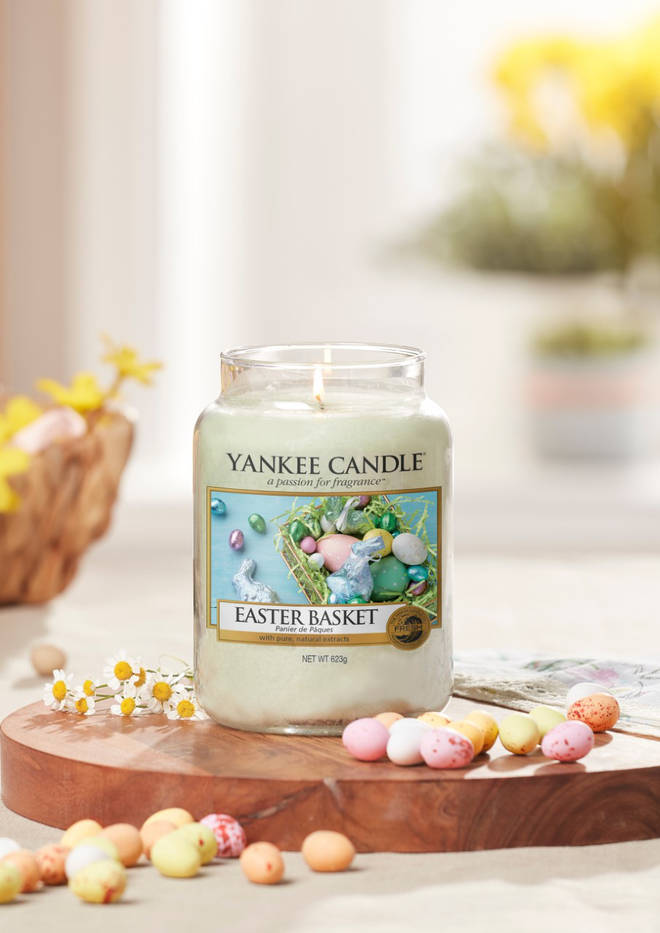 The Easter Basket scent is the freshest of the new collection