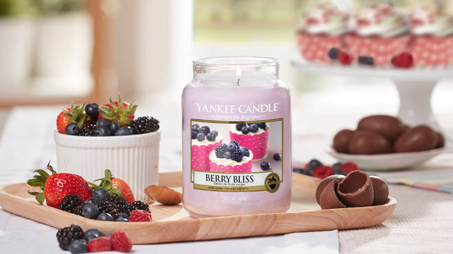 Berry Bliss is the third and final scent in the Easter range