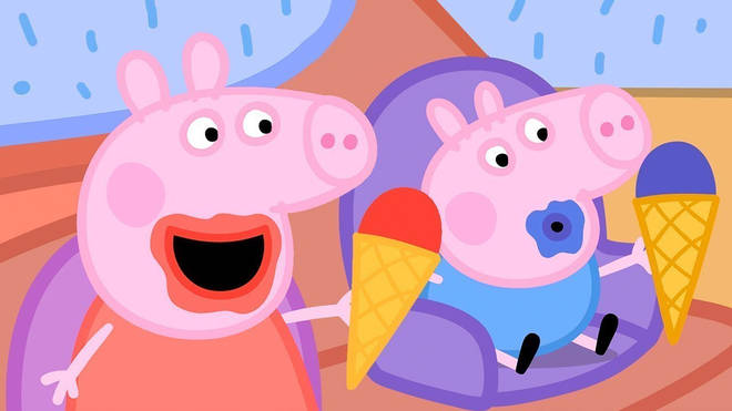Peppa Pig fans were left shocked by the inappropriate trailers