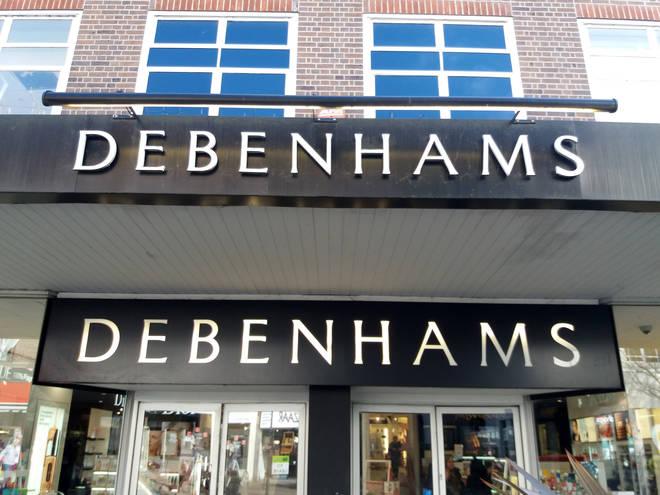 Debenhams, administration