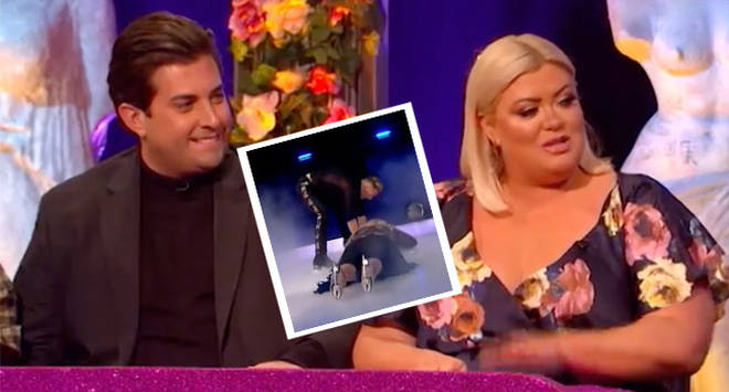 Gemma Collins made the shocking admission in front of James Argent