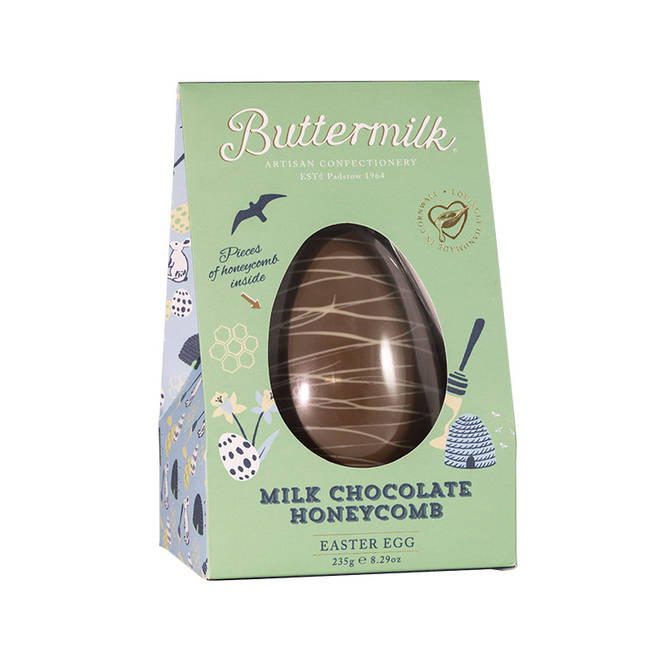 Buttermilk Free From Honeycomb Easter Egg
