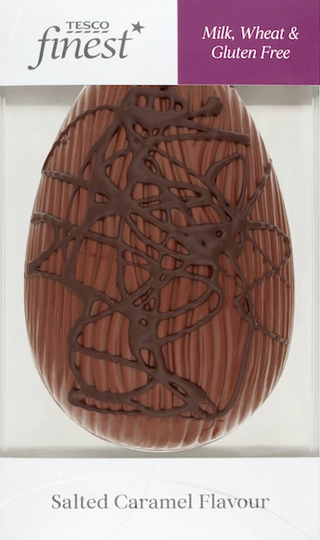 Tesco Finest Free From Salted Caramel Egg