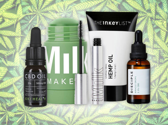Cannabis-infused beauty is trending