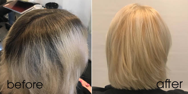 Salon bleaching is better for results and reducing damage