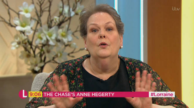 Anne Hegerty defended Emily Atack against a troll last year