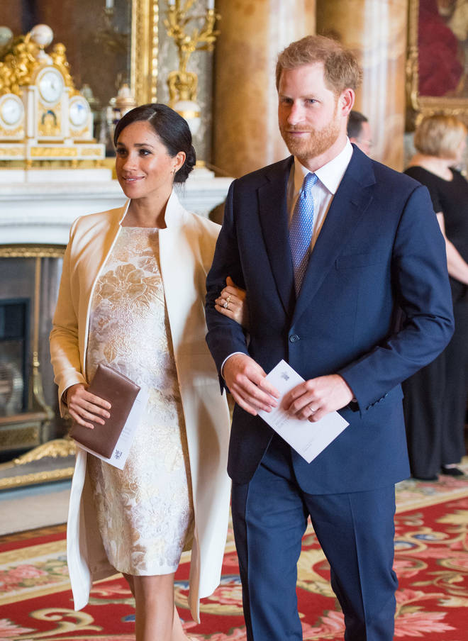 Meghan Markle is due to give birth any day now