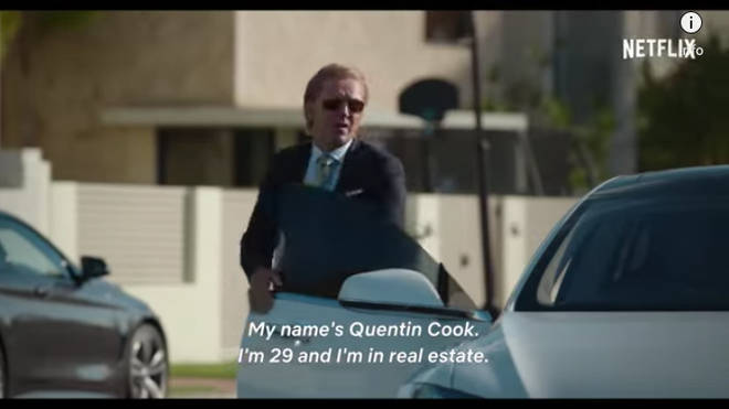 Quentin is an estate agent