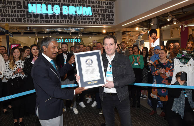 The store has won a Guinness Book Record