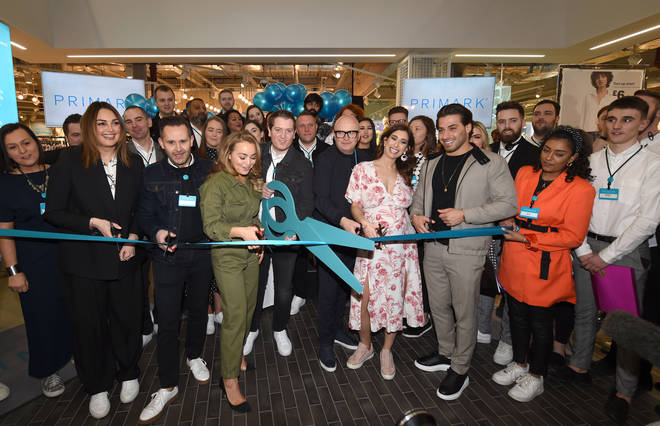 Stacey Solomon and other celebs were there for the opening