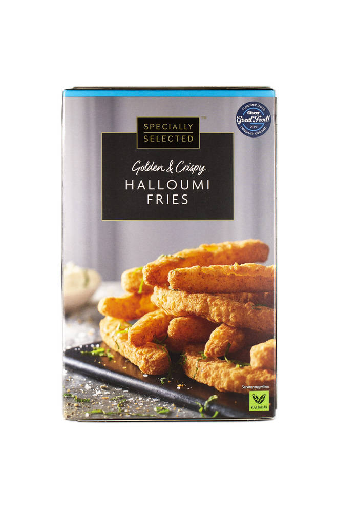 The Specially Selected Halloumi Fries will only set you back a minuscule £2.29