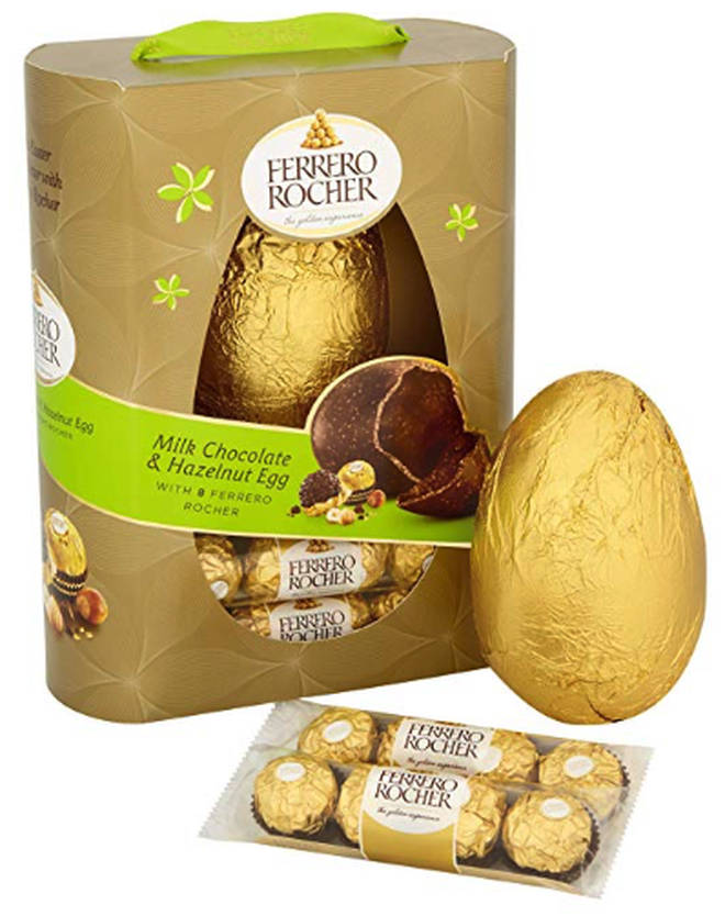 Ferrero Rocher Milk Chocolate & Hazelnut Easter Egg £9
