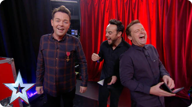 Stephen Mulhern says he's happy to have 'the family back together'