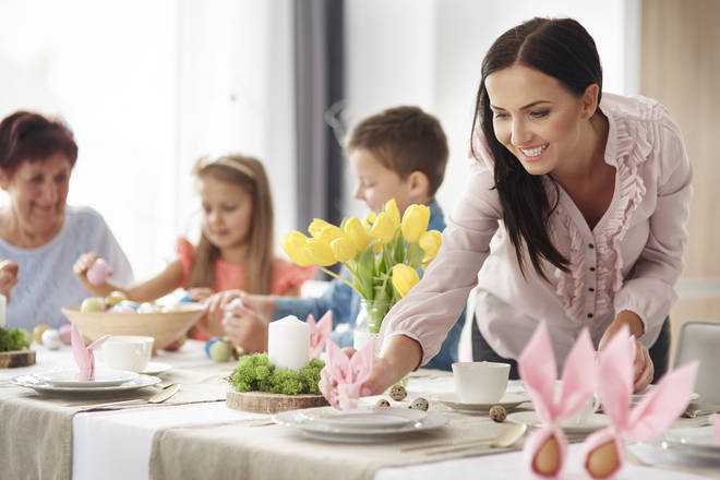 Easter weekend starts on Good Friday and ends on Easter Monday (stock image)