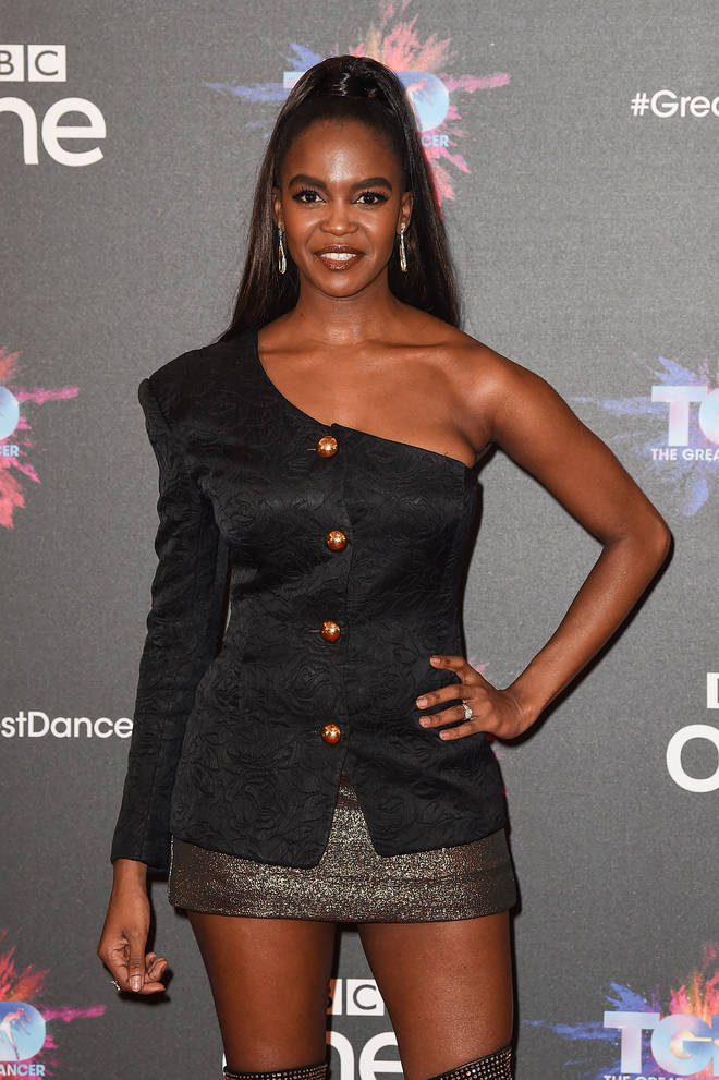 Oti Mabuse has previously judged The Greatest Dancer