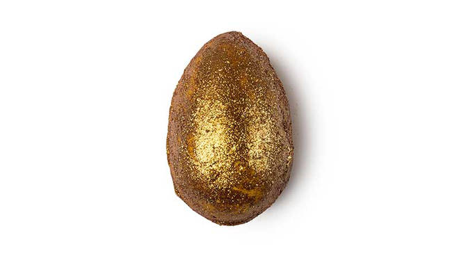 The Golden Egg from Lush will leave you sparkling
