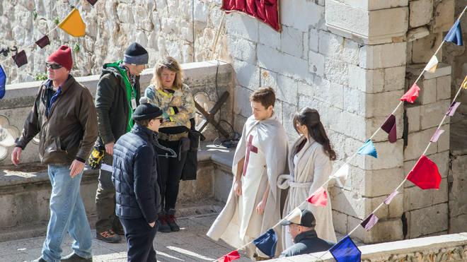 Taron Egerton played Robin Hood for the 2018 film