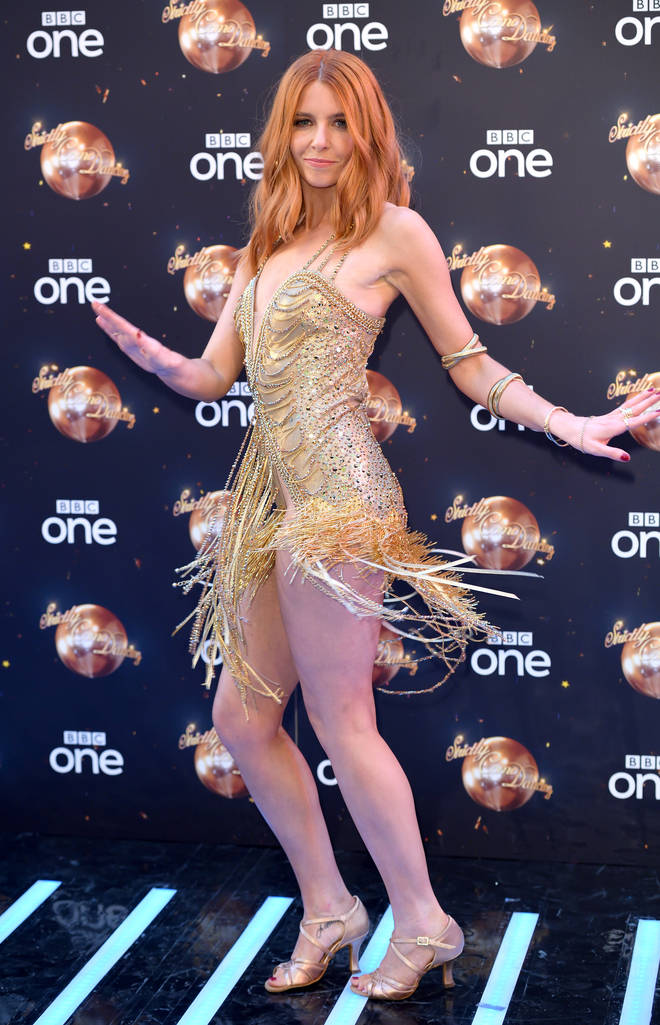 Stacey Dooley, pictured at the launch of Strictly Come Dancing in 2018
