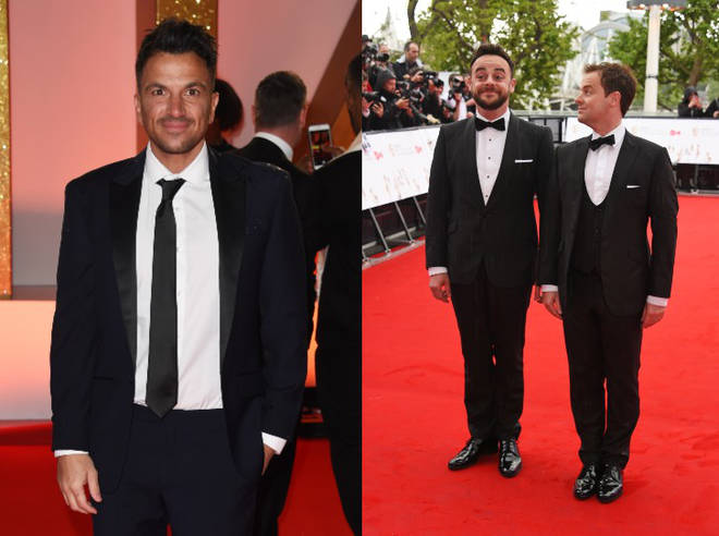 Peter Andre has spoken out about his feud with Ant and Dec