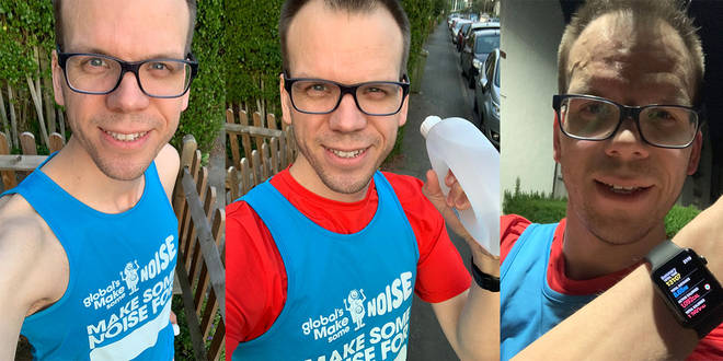 Matt Wilkinson ran the London Marathon for a very good cause