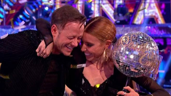 Stacey and Kevin were crowned winners of Strictly Come Dancing 2018