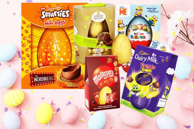 Easter egg Taste test