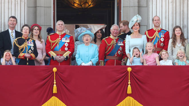 The Queen also celebrates her birthday on Trooping The Colour