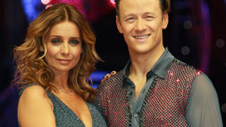 Louise Redknapp and Kevin Clifton  at the 'Strictly Come Dancing  live tour in January 2017