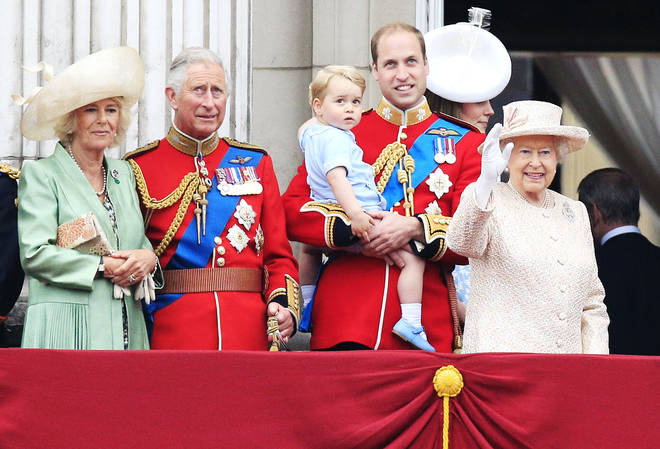 The Queen publicly celebrate her birthday with Trooping the Colour