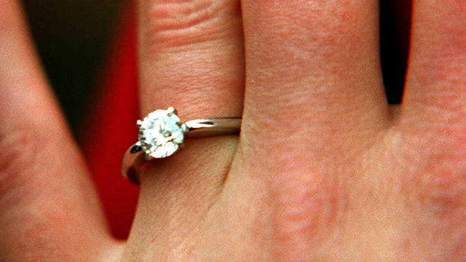 The ex had never actually proposed with the ring, but it was intended for someone else